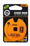 Fox Chod Stiff Rig STD 25lb S:8 Előkötött