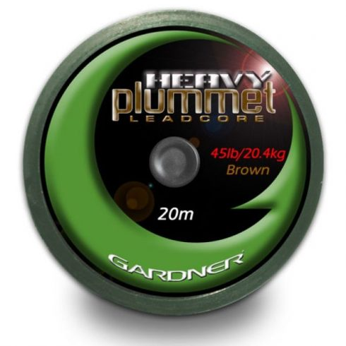 Gardner Heavy Plummet Leadcore Brown 45Lb
