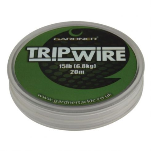 Gardner Trip Wire - Chod Link 20lb 20m- merev előkezsinór