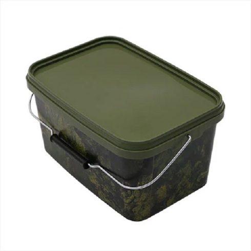 Gardner Square Camo Buckets -terepmintás kocka vödör - 5l