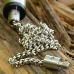 Solar Stainless chain stainless ended - 9 inch - rozsdamentes lánc