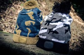 Ridgemonkey Camo Bobble Hat téli sapka barna