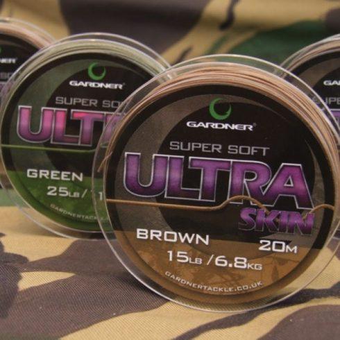 Gardner Ultra Skin 35lb 20m Green - előkezsinór