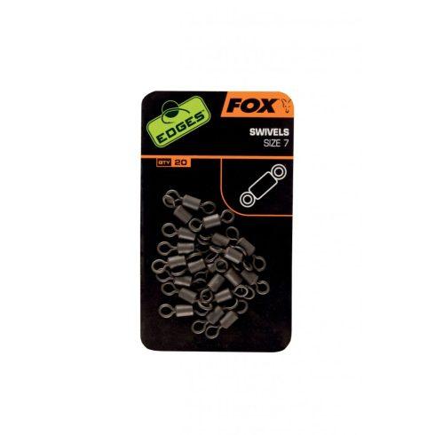 Fox Edges Swivels Standard - forgókapocs