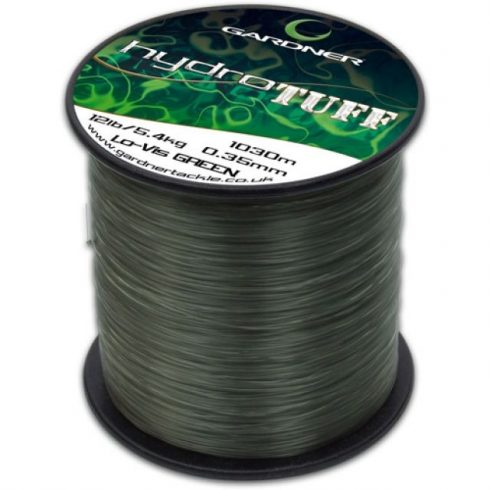 Gardner Hydro Tuff Green 15lb (6,8kg) 0,38mm 870m - főzsinór