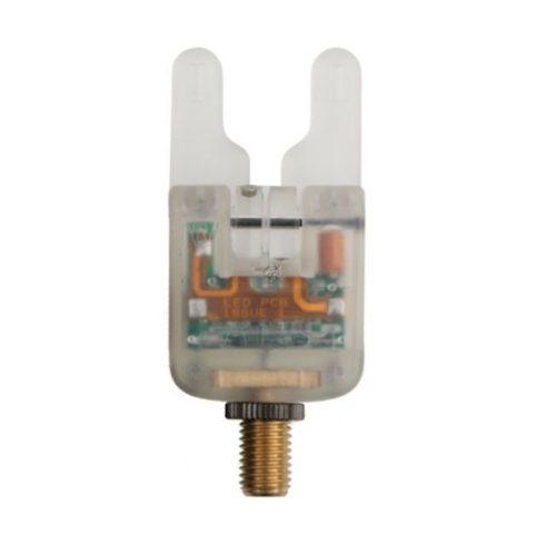ATTs Crystal Wheel Alarms White - Átlátszó kapásjelző fehér (görgővilágítás)