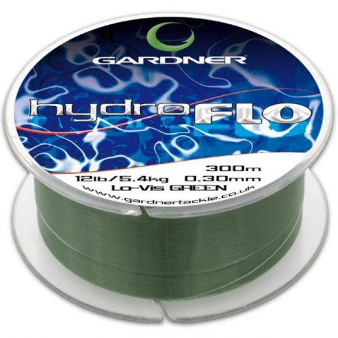 Gardner Hydro Flo Green 18lb (8,2kg) 0,38mm 300m