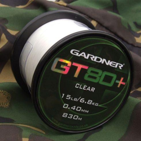 Gardner GT80 Plus Clear 12lb 5,4kg) 0,35mm 1030m - főzsinór