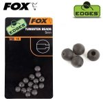 Fox Edges 5mm Tungsten Beads x 15 - Wolfram gyöngy 5mm
