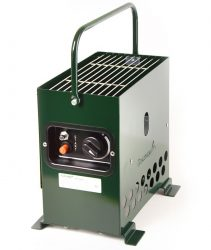 Heatbox 2000 Sátorfűtés - zöld