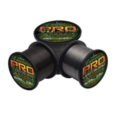 Gardner Pro Dark 12lb (5,4kg) 0,30mm 1320m - főzsinór sötét