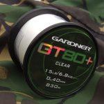 Gardner GT80 Plus Clear 10lb (4,5kg) 0,30mm 1400m - főzsinór