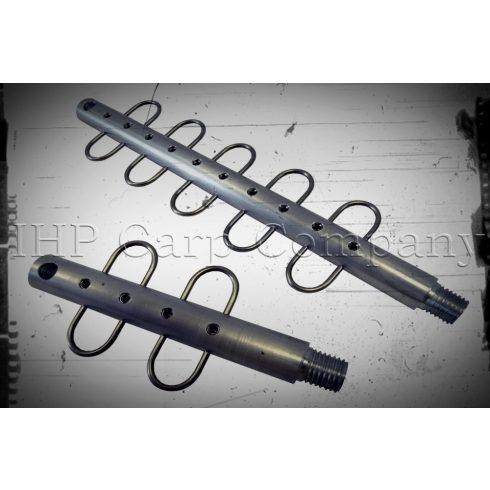 ICC ALU haltartó adapter medertapogató rúdhoz 15cm, 4db akasztóval