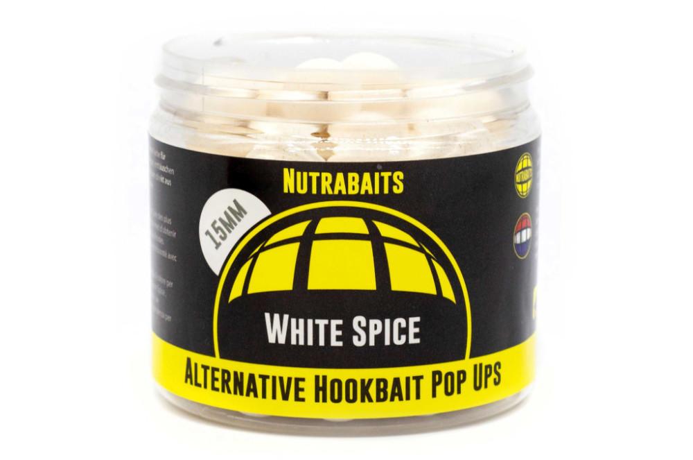 Nutrabaits White Spice Alternative Hookbaits - Pop-Up - 16mm