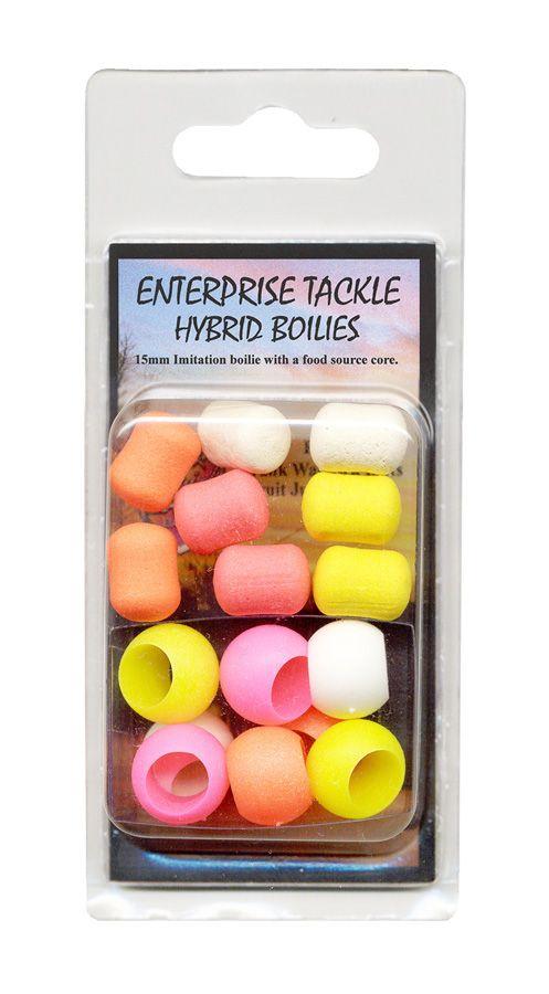 Enterprise 15mm Hybrid boilie mixed fluoro